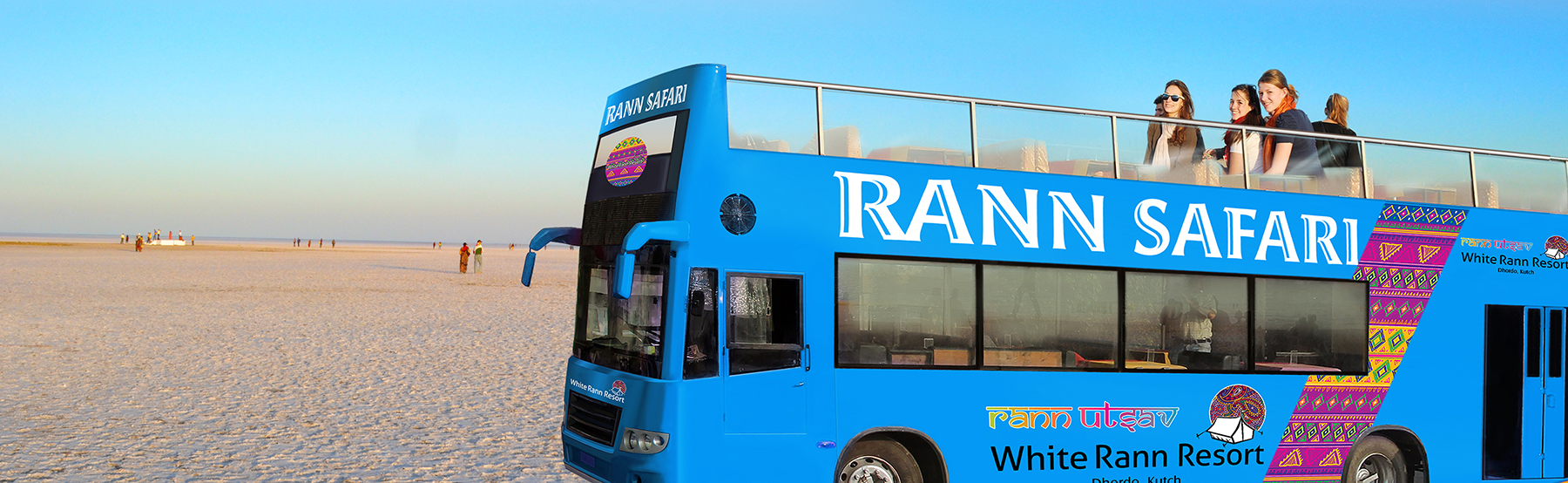 Rann Safari-Double decor Bus